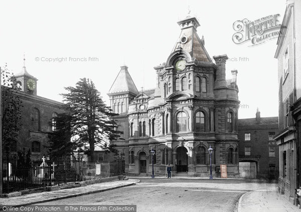 Photo of Tiverton, Town Hall 1890
