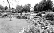 Tiverton, West Exe Recreation Park c1955