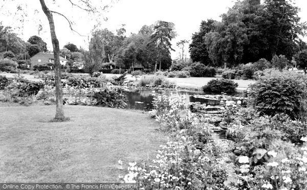 Photo of Tiverton, West Exe Recreation Park c1955