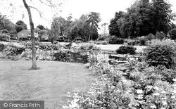 Tiverton, West Exe Recreation Park c.1955