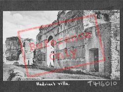 Hadrian's Villa, Caserma Dei Vigili c.1930, Tivoli