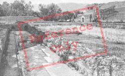 Hadrian's Villa, Edificio Con Peschiera c.1930, Tivoli