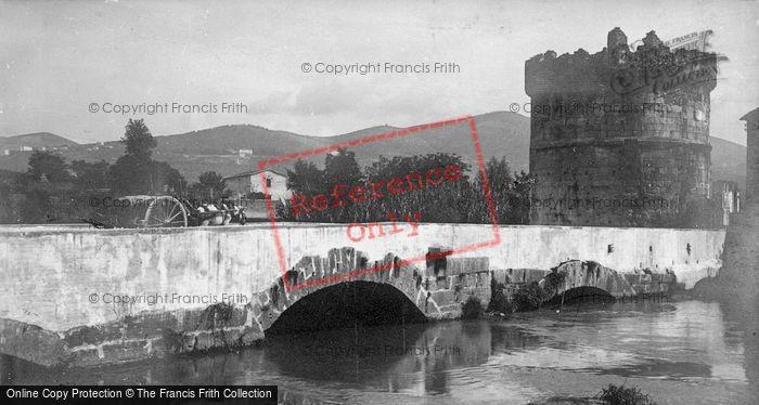 Photo of Tivoli, Ponte Lucano And Mausoleum Of Plautii c.1930