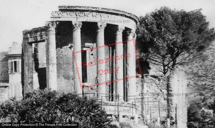 Photo of Tivoli, Temples Of Vest And Sibila c.1930