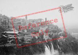 View With Waterfalls c.1930, Tivoli