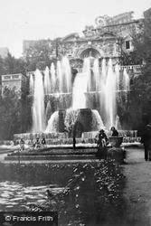Villa D'este, Fontana Di Nettuno c.1930, Tivoli