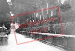 Villa D'este, Le Cento Fontane c.1930, Tivoli