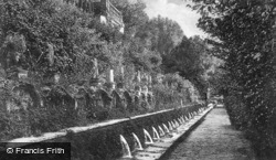 Villa D'este, Le Cento Fontne c.1930, Tivoli