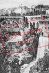 Villa Gregoriana, Ponte Gregoriano c.1930, Tivoli
