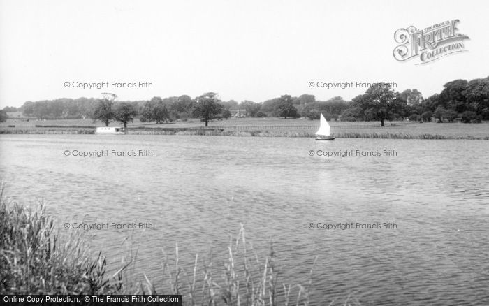 Photo of Tixall, The Canal c.1955