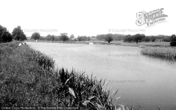 Tixall, the Canal c1960
