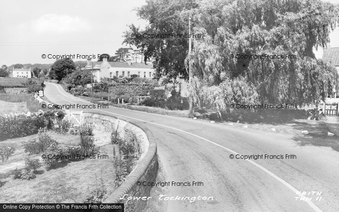 Photo of Tockington, The Lower Village c.1955