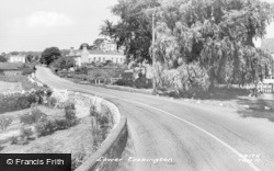 The Lower Village c.1955, Tockington