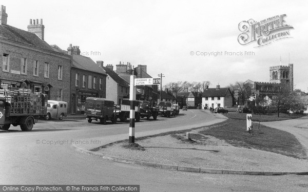 Photo of Toddington, High Street 1955