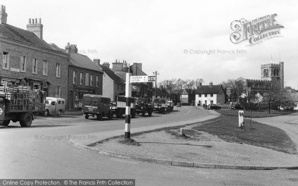 Toddington, High Street 1955