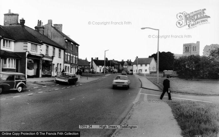 Photo of Toddington, High Street c.1965