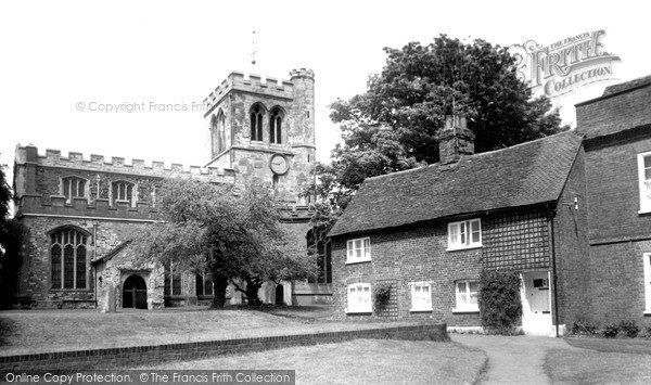 Photo of Toddington, St George of England Church c1965