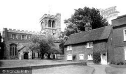 St George Of England Church c.1965, Toddington