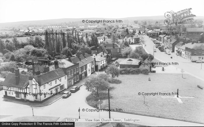 Photo of Toddington, View From Church Tower c.1965