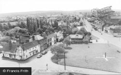 View From Church Tower c.1965, Toddington