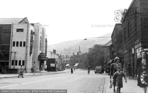 Photo of Todmorden, Burnley Road c.1950