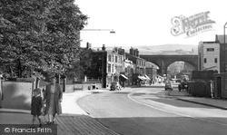 Todmorden, Burnley Road c.1955