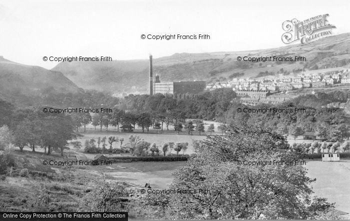 Photo of Todmorden, Burnley Valley c.1955