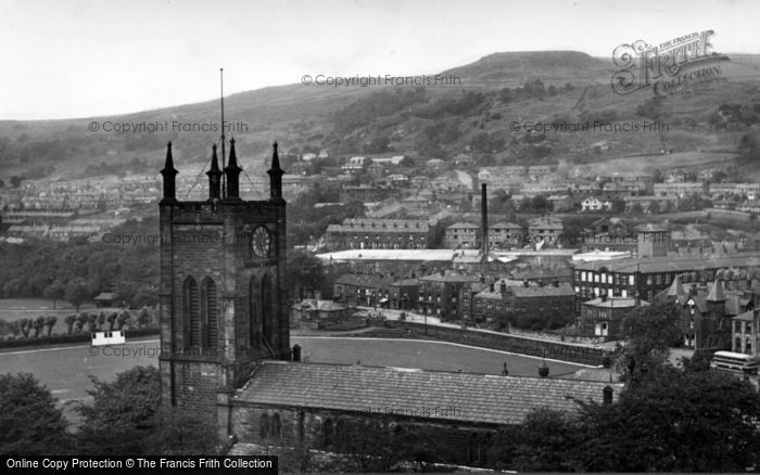 Photo of Todmorden, c.1955