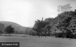 Centre Vale Park c.1955, Todmorden