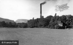 Todmorden, Centre Vale Park c.1955