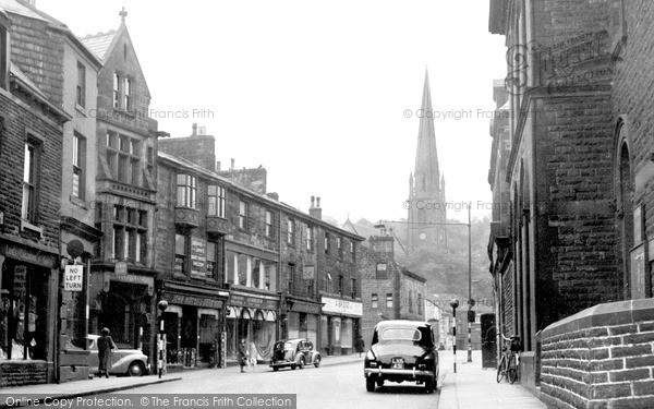 Photo of Todmorden, Church Street c.1950