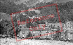 Cragg Vale And Withens Clough c.1955, Todmorden