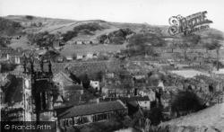Todmorden, Parish Church From Lovers' Walk c.1965