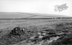 Slake Trough On The Pennine Way c.1955, Todmorden