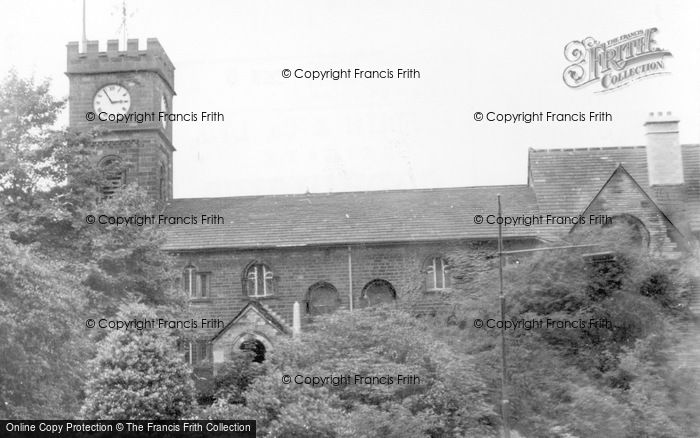 Photo of Todmorden, St Mary's Church c.1955