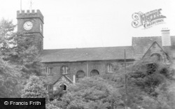 St Mary's Church c.1955, Todmorden
