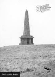 Todmorden, Stoodley Pike c.1955