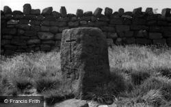 Te Deum Stone, Withens Gate c.1955, Todmorden