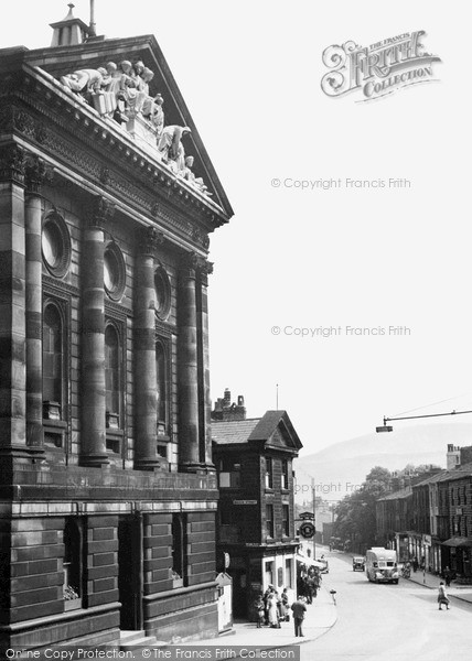 Photo of Todmorden, The Town Hall c.1950