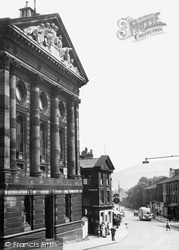 Todmorden, The Town Hall c.1950