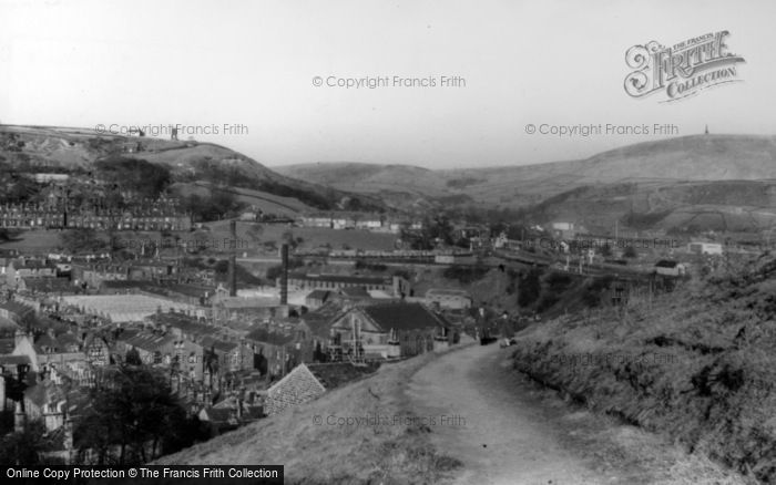 Photo of Todmorden, View From Lovers' Walk c.1965