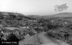 Todmorden, View From Lovers' Walk c.1965