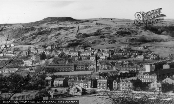Photo of Todmorden, View Over Whirlow From Ridge c.1965