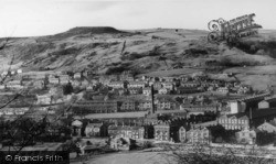 Todmorden, View Over Whirlow From Ridge c.1965