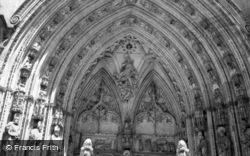 Toledo, Cathedral, Ornate Doorway 1960