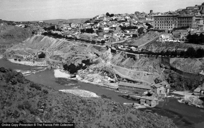 Photo of Toledo, Town And River Tagus 1960