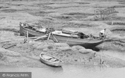 Tollesbury, A Boat, From Woodrolfe c.1960