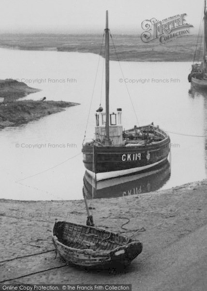 Photo of Tollesbury, Boats At Woodrolfe c.1955