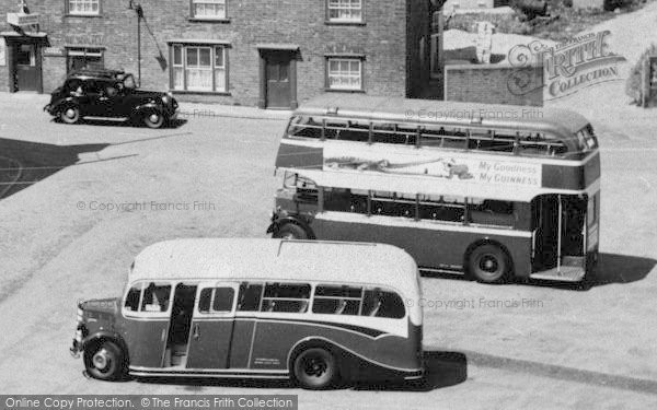 Photo of Tollesbury, Bus And Coach c.1960