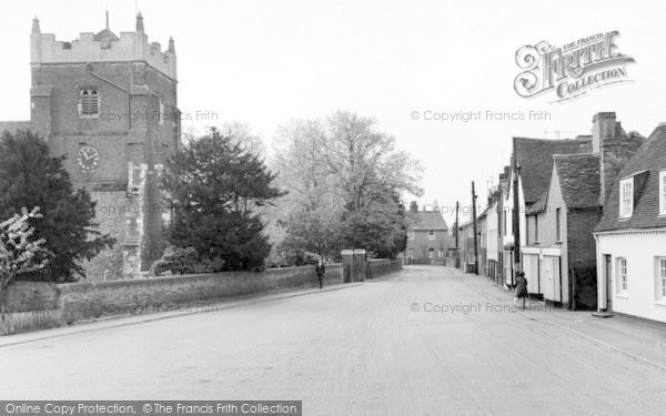 Photo of Tollesbury, Church Street c.1965